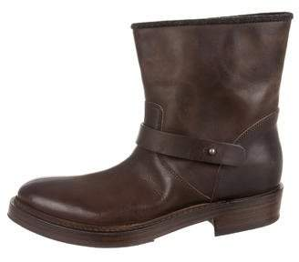 Brunello Cucinelli Round-Toe Ankle Boots w/ Tags
