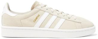 adidas Originals - Campus Suede Sneakers - Beige $90 thestylecure.com