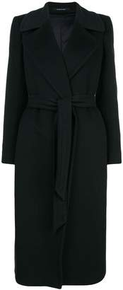 Tagliatore Molly belted single-breasted coat