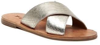 Frye Ally Metallic Criss Cross Sandal