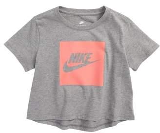 Nike Sportswear Logo Graphic Crop Tee