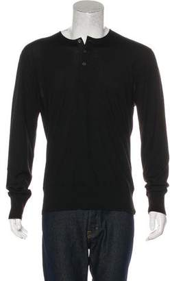 Tom Ford Cashmere Henley Sweater w/ Tags
