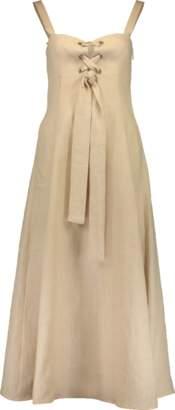 Mara Hoffman Mei Tie Midi Dress