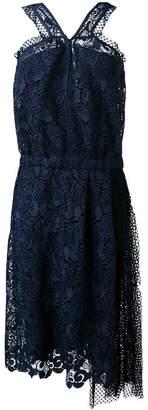 No.21 lace and net sleeveless dress