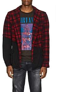Greg Lauren Men's Plaid Wool-Cotton Jacket
