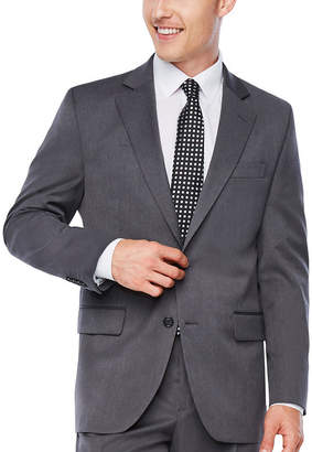 STAFFORD Stafford Travel Medium Gray Classic Fit Stretch Suit Jacket