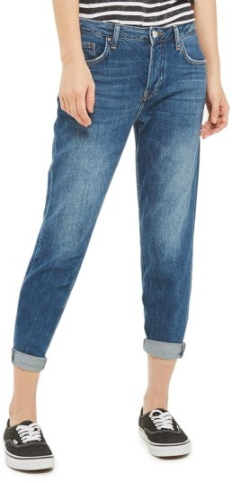 TopshopPetite Women's Topshop Hayden Boyfriend Jeans