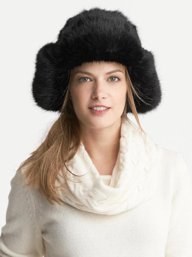 Banana Republic Faux-Fur Trapper Hat