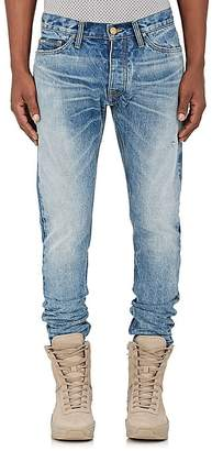 FEAR OF GOD Men's Ankle-Zip Slim Jeans $895 thestylecure.com