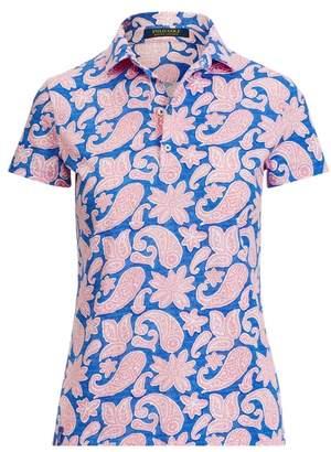 GolfRalph Lauren Tailored Fit Print Golf Polo