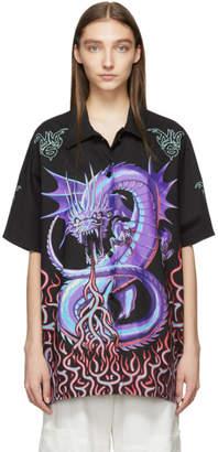 MM6 MAISON MARGIELA Black Dragon Print Shirt