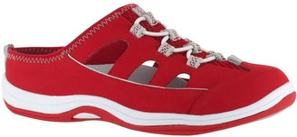 Easy Street Shoes Leather Sport Fisherman Slip-Ons -Barbara