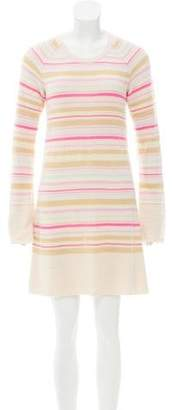 Chanel Striped Knit Dress