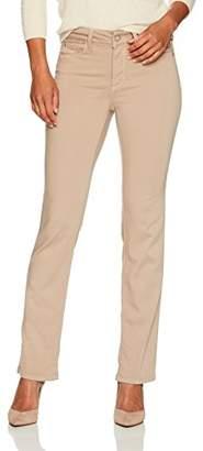 NYDJ Women's Petite Size Marilyn Straight Jeans in Luxury Touch Denim
