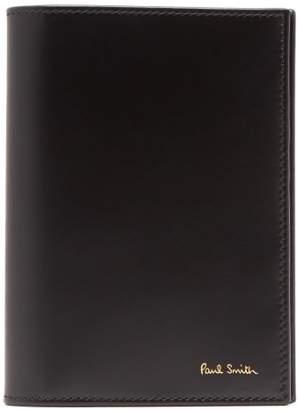 Paul Smith Leather Passport Holder - Mens - Black