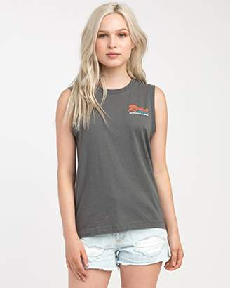 RVCA Junior's Bonded Sleeveless Tee