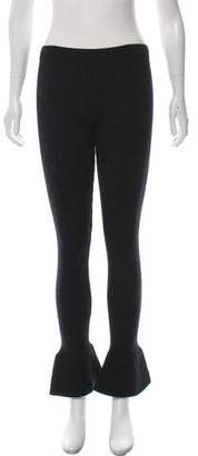 Prada Rib Knit Flared Leggings w/ Tags