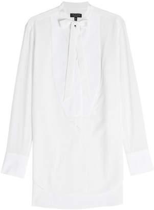 Rag & Bone Silk Tuxedo Shirt