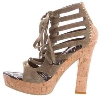 Santoni Multistrap Platform Sandals w/ Tags