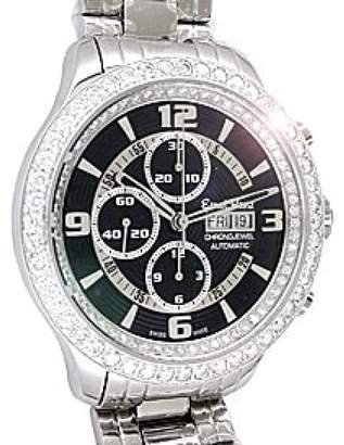 "Ernst Benz Diamond "" Chronojewel"" Chronograph Stainless Steel Mens Watch"