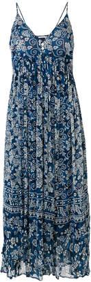 Mes Demoiselles floral flared midi dress