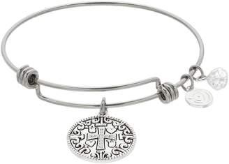 Love This Life love this life Cross Bangle Bracelet