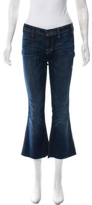Elizabeth and James Low-Rise Flared Jeans