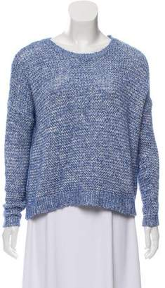 Alice + Olivia Oversize Crew Neck Sweater