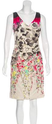 Valentino Floral Print Sheath Dress