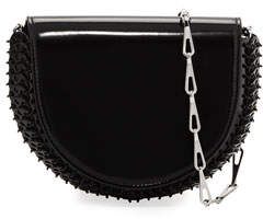 Paco Rabanne 1402 Half Moon Mini Chain Bag