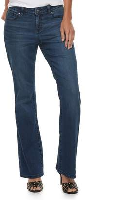 JLO by Jennifer Lopez Women's Midrise Bootcut Jeans