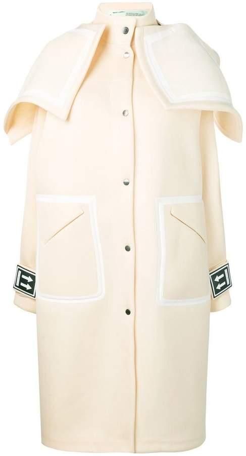 Long K-Way coat