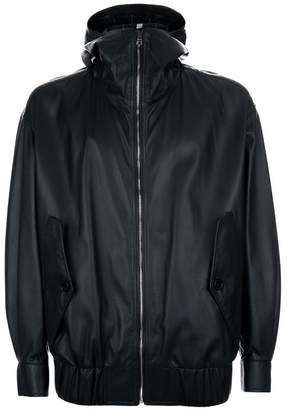 Burberry Hooded Leather Jacket