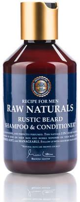 Raw Naturals Rustic Hair Shampoo & Conditioner, 8.4 oz./ 250 mL