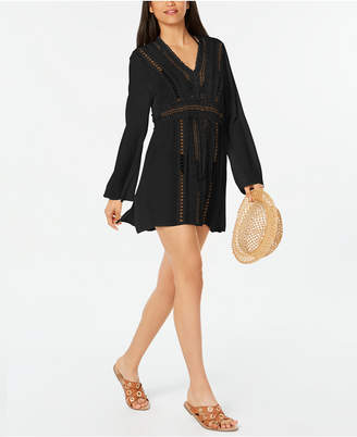 Raviya Crochet Tunic Cover-Up Women's Swimsuit