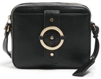Sole Society Faux Leather Camera Crossbody Bag