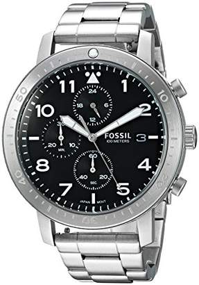 Fossil Men's CH3082 The Major Chronograph Timer Stainless Steel Watch