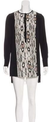 Magaschoni Silk Mini Dress w/ Tags