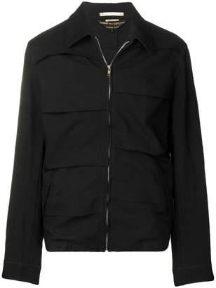 Comme des Garcons folded zip jacket