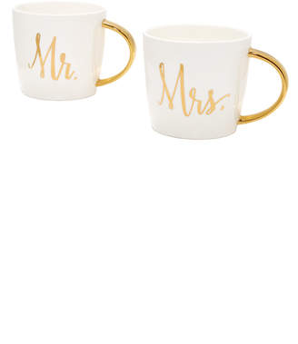 Slant Collections Mr. & Mrs. Coffee Mug Set