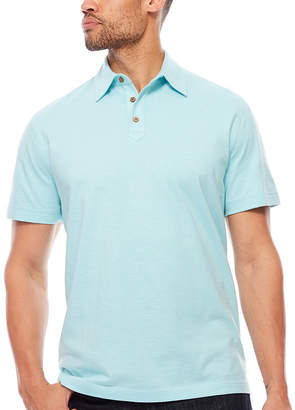 Island Shores Short Sleeve Jersey Polo Shirt