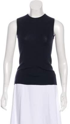 Prada Cashmere & Silk Sleeveless Top