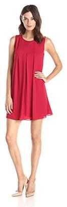 Lark & Ro Women's Sleeveless Swing Dress