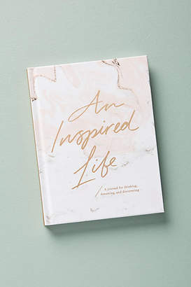 Anthropologie An Inspired Life: A Journal For Thinking, Dreaming, and Discovering