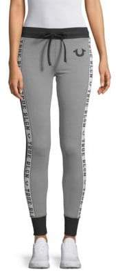 True Religion Side Logo Jogger Pants