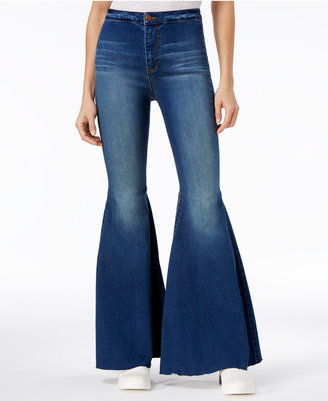 Free People Just Float On Flare-Leg Jeans $78 thestylecure.com