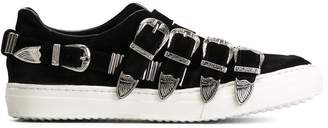 Toga buckled slip-on sneakers