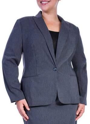 George Women's Plus-Size Millennium Suiting Jacket