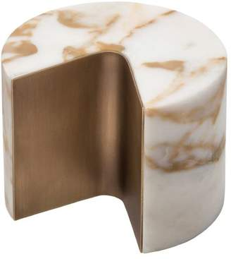 Balancing Marble & Brass Paperweight