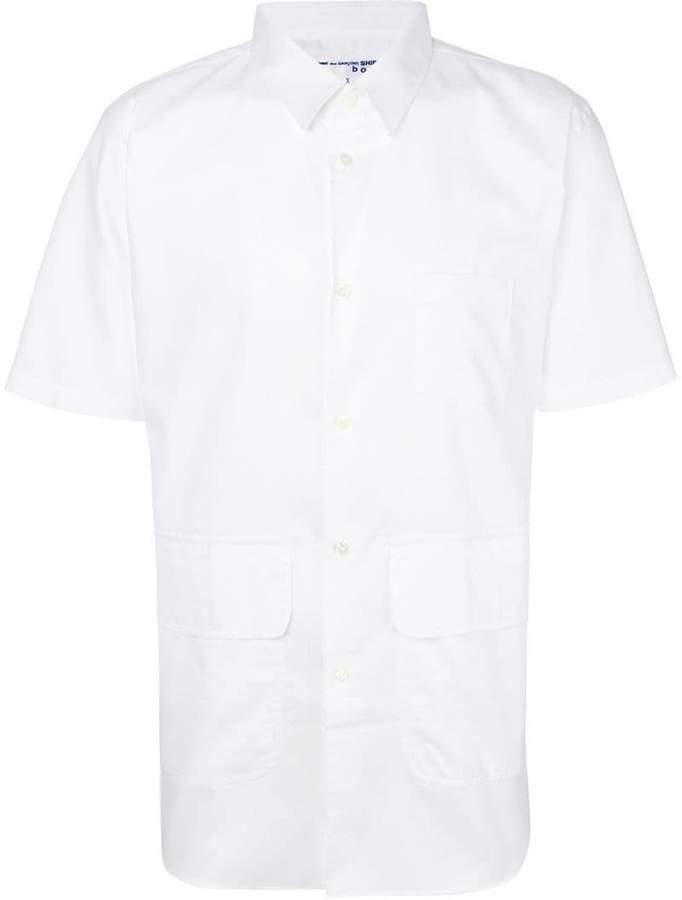 Comme Des Garçons Shirt Boys pocket detail shirt